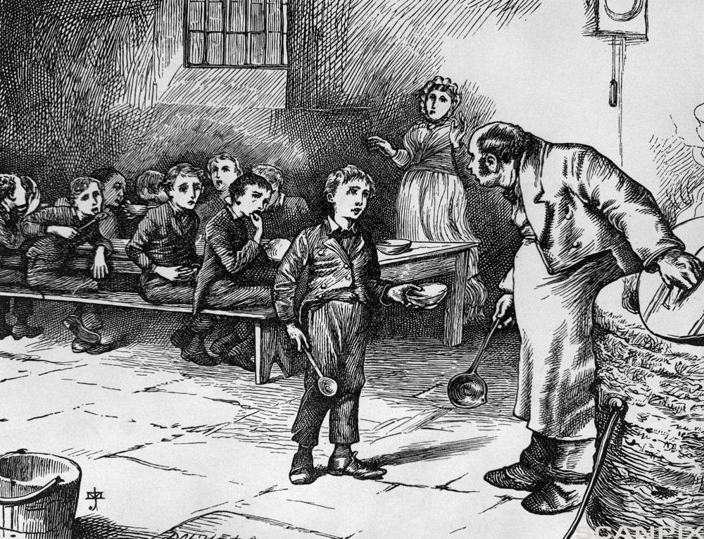 the representation of the industrial revolution in oliver twist by charles dickens