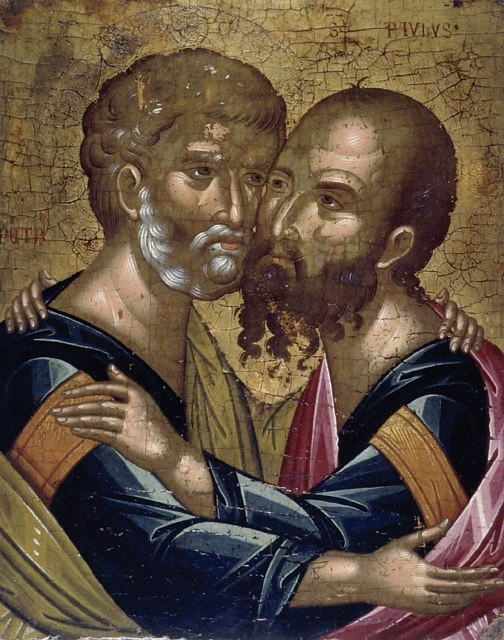 Saint Paul and Peter