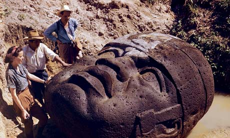 The Olmec head