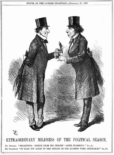 Disraeli and Gladstone