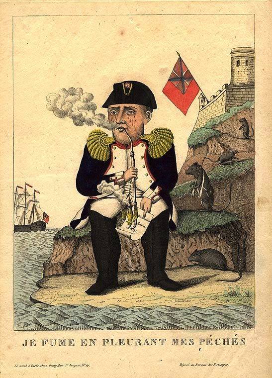 Napoleon on St Helena