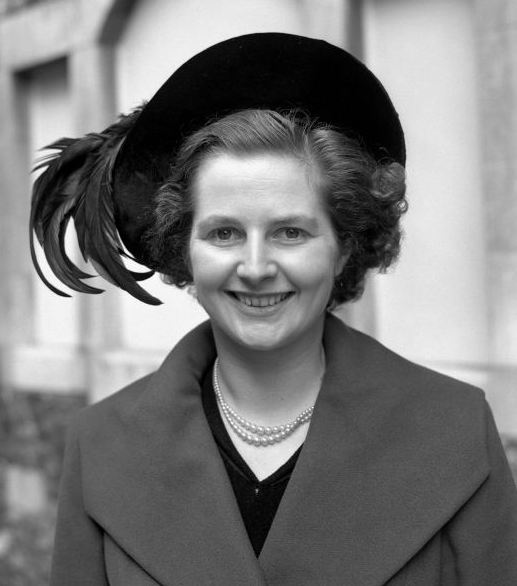 Margaret Thatcher at 24-years-of-age