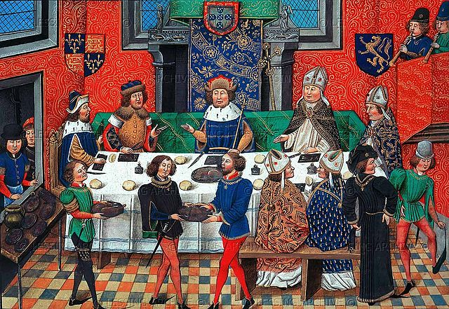 King Joao of Portugal and John of Gaunt