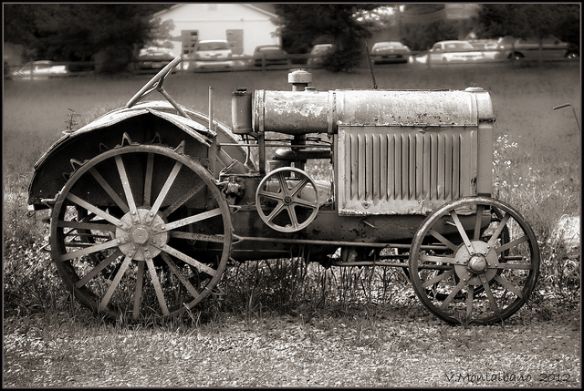 Agricultural mechanisation in the early 20th century