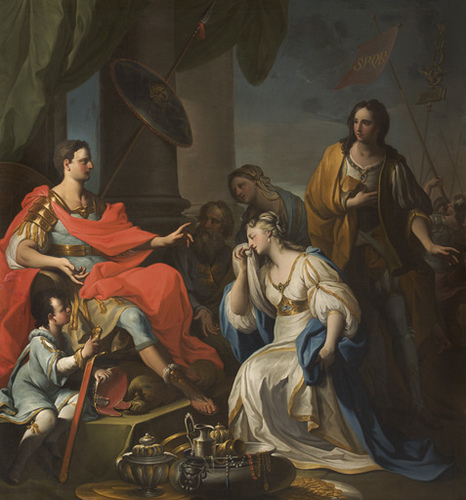 Scipio was offered a young woman Lucretia as his captive and a prize of war, but when he found out that she was betrothed he summoned her fiancee and restored her unharmed
