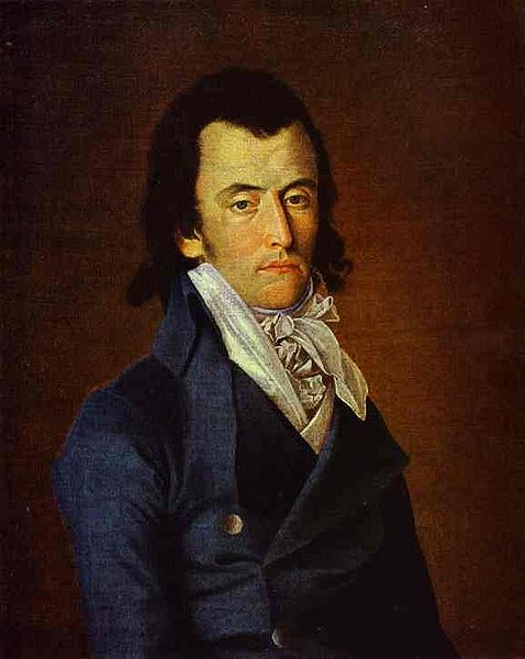 Portrait of Alexandre de Beauharnais, 1791-94, unknown artist