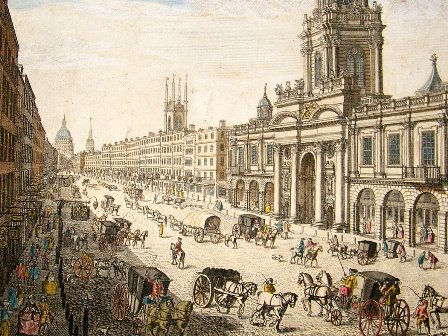 The Royal Exchange c 1760