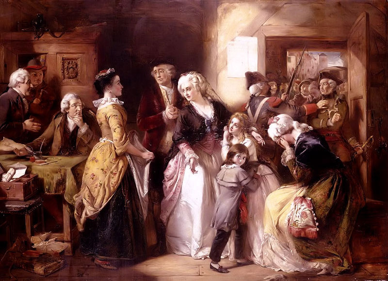 Arrest of Louis XVI and his Family, Varennes, 1791