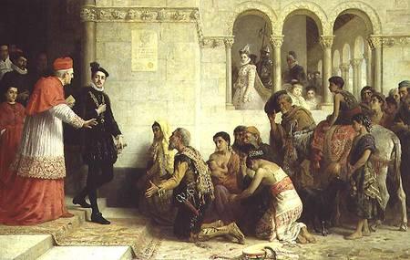 The Expulsion of the Gypsies from Spain, by Long, Edwin Longsden, 1872