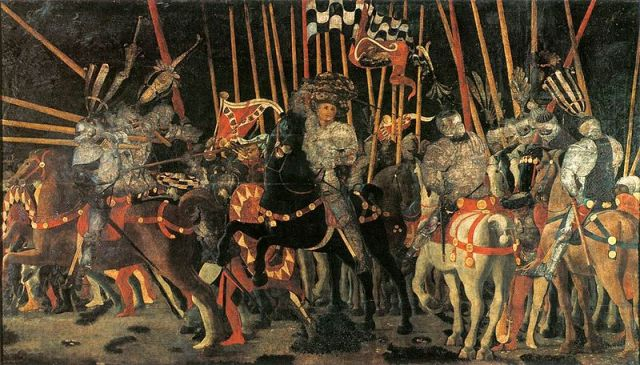 San Romano Battle by Paolo Uccello