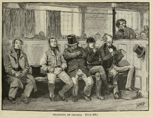 'Chartists at Church', by H. M. Page