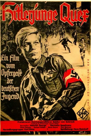 "The poster for Nazi propaganda film ""Hitlerjunge Quex"""