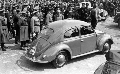 A new Volkswagen car