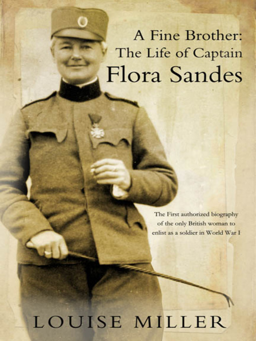 Flora Sandes by Louise Miller