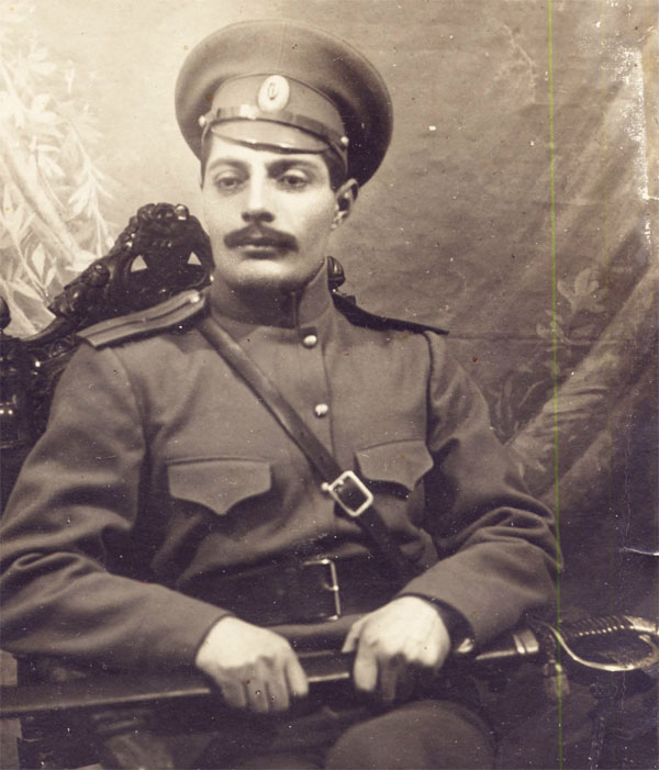 The officer of Russian Imperial Army