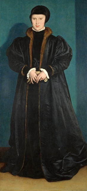 Christina of Denmark, Ducchess of Milan by Holbein