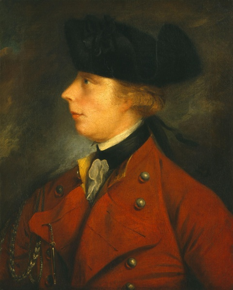 The portrait of General James Wolfe by J.S.C. Schaak