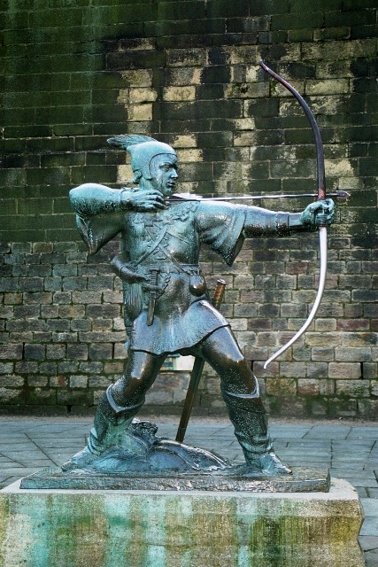 The monument of Robin Hood