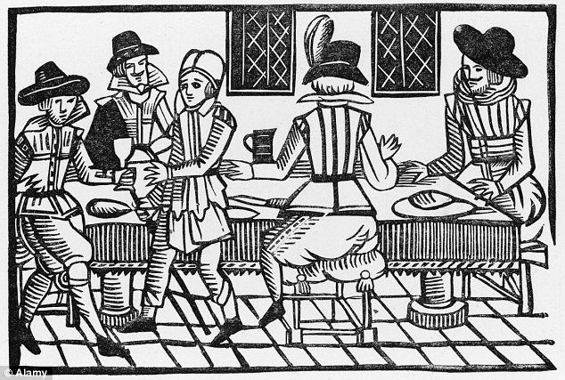 Drinking in 16th century
