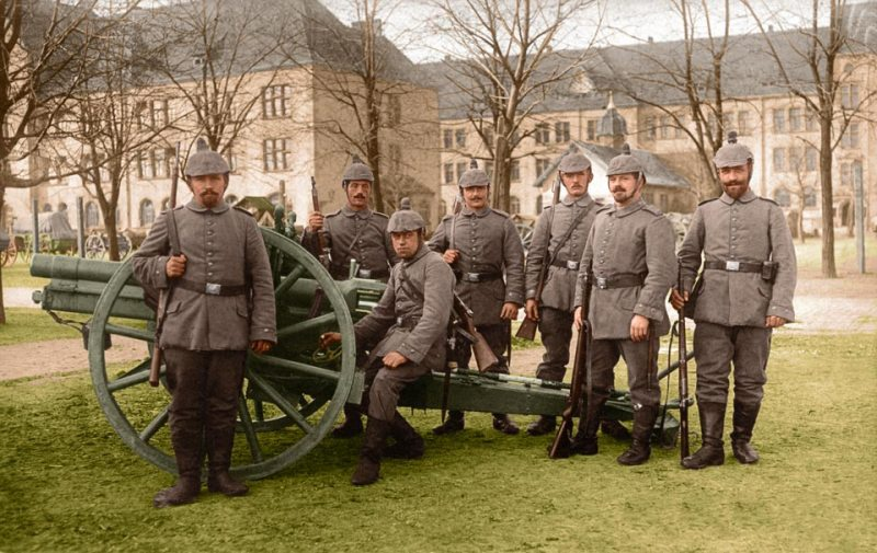 German field artillery