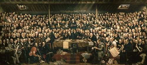 Establishing the Free Church of Scotland
