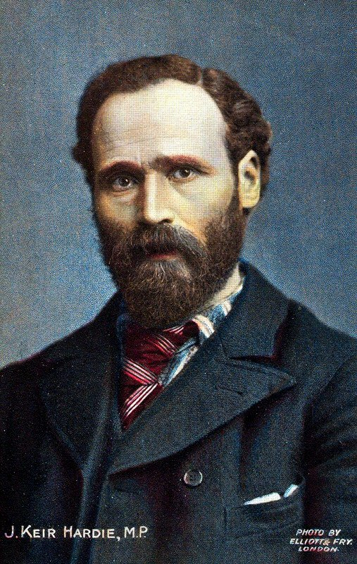 James Keir Hardie  (15 August 1856 – 26 September 1915), 1892