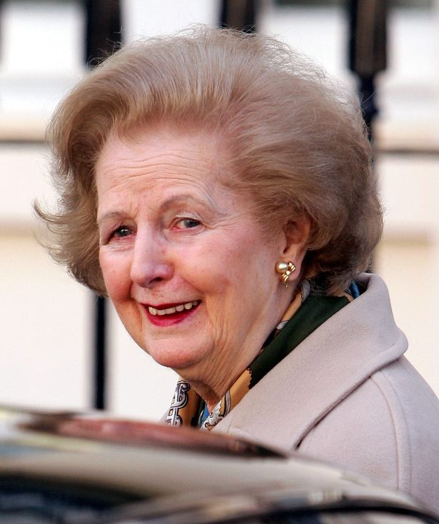 Thatcher at the old age