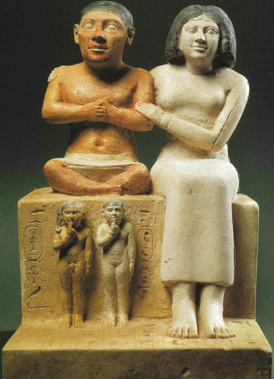 Seneb's family - Ancient Egypt History