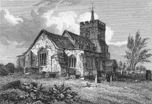 Parish church in King's Langley, Herefordshire