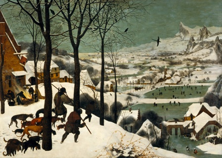 """Hunters in the Snow"" by Pieter Bruegel the Elder"
