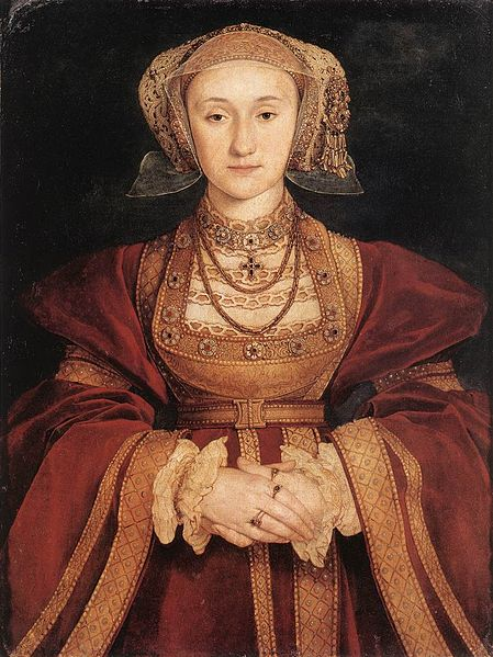 Betrothal portrait of Anne of Cleves by Hans Holbein the Younger, c. 1539 (watercolour of parchment)