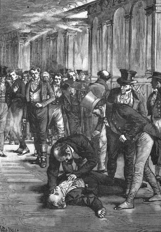 Perceval dies moments after the shooting
