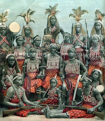 Dahomey Women Warriors